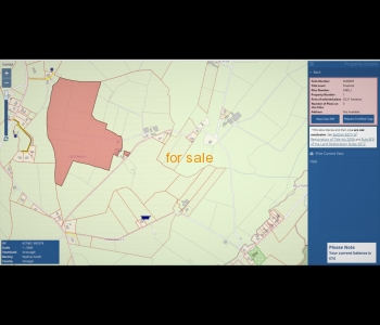 SALE AGREED - 40 acres of Prime Agricultural Land For Sale In the Finn Valley Area