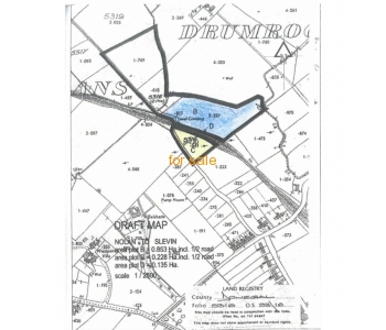 3 acres (1.21 ha) for sale at Mullans, Donegal PO, Co. Donegal