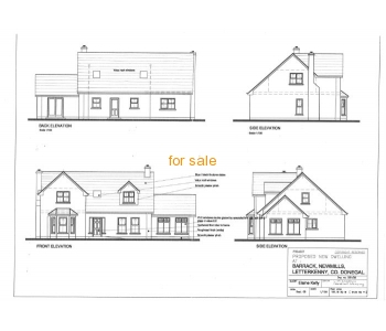 2 sites for sale at Barrack, New Mills, Letterkenny, Co. Donegal