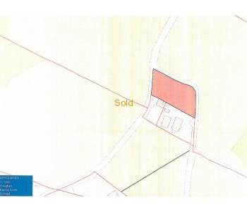 0.66 acre site for sale located at Croghan, Tober, Ballindrait, Lifford, Co Donegal
