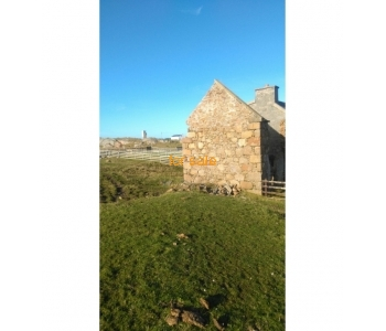 Two derelict cottages for sale on Duck Street, Rutland Island, Co Donegal
