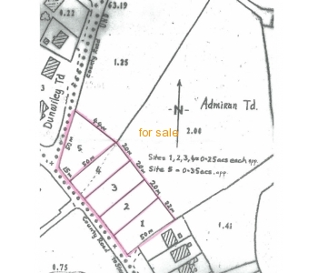 X3 sites for sale at Greenhills, Stranorlar, Co Donegal