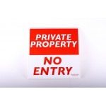 Private Property - No Entry Signs