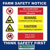 Farm Safety Sign