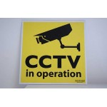 CCTV in Operation Wall Sign | Warning Signs